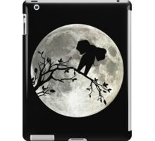 The Elephant And The Moon iPad Case/Skin