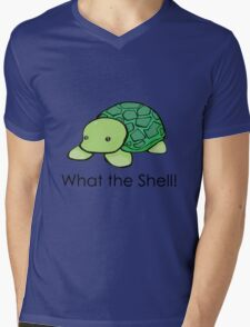 What the Shell! (Pun) Mens V-Neck T-Shirt