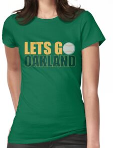To The Playoffs Womens Fitted T-Shirt