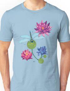 Patterns of a Pond Unisex T-Shirt