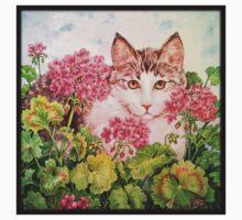 Baby Blossom Kitten Baby Tee