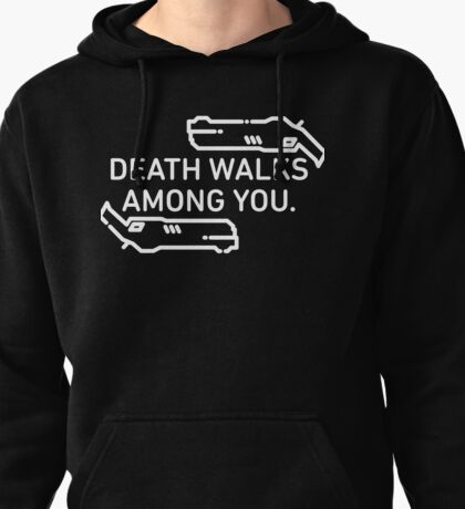 Death Walks Among You - Reaper - Overwatch Pullover Hoodie