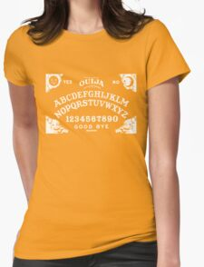 Ouija-White Womens Fitted T-Shirt