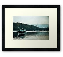 Welcome To Wherever You Are Framed Print