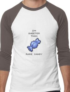 RARE CANDY Men's Baseball ¾ T-Shirt