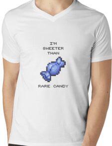 RARE CANDY Mens V-Neck T-Shirt