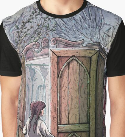 Lucy's Discovery, Narnia Fan Art Graphic T-Shirt