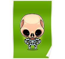 Skeleton Boy Poster