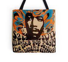 Cool Jimi Hendrix Concert Poster  Tote Bag