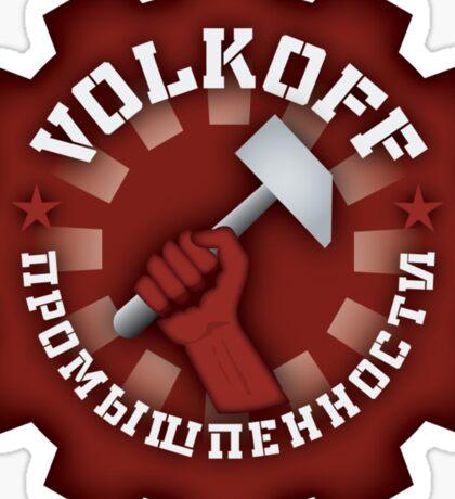 Volkoff spies from TV show Chuck Sticker