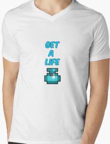 Get A Life - RotMG Mens V-Neck T-Shirt