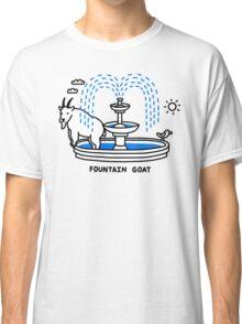 Fountain Goat Classic T-Shirt