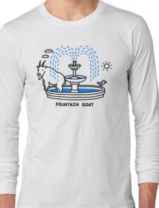 Fountain Goat Long Sleeve T-Shirt