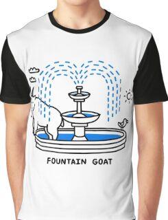 Fountain Goat Graphic T-Shirt