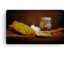 Coconut, oats and honey Canvas Print