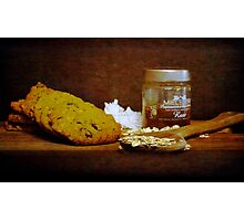Coconut, oats and honey Photographic Print