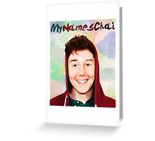 My Names Chai Greeting Card