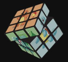 Pokemon Rubik's Cube Kids Clothes