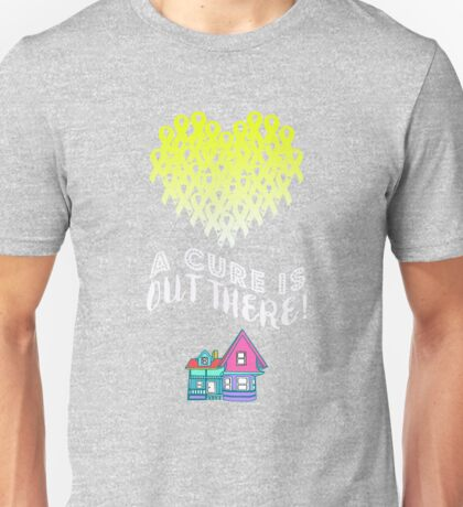 A Cure Is Out There - Yellow Unisex T-Shirt