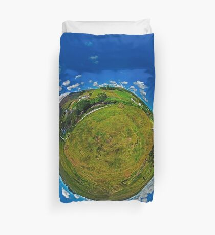 SlieveLeague from the Banks of the Glen River, near Carrick Duvet Cover