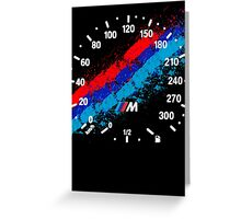 BMW M Series T - Shirts Greeting Card
