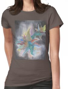 Borrowed Time Womens Fitted T-Shirt