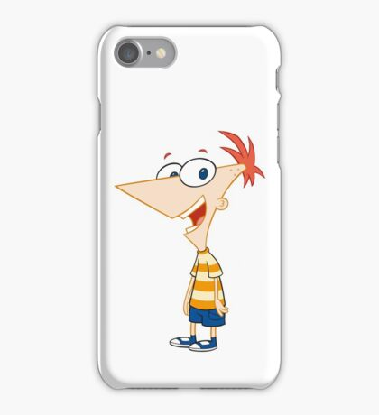 Phineas Flynn From Phineas and Ferb iPhone Case/Skin