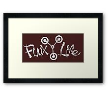 Flux Life Framed Print