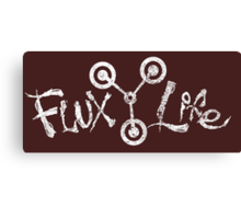 Flux Life Canvas Print