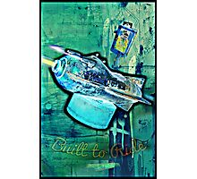 Built to Ride Photographic Print