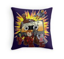 Everything Is Awesome Mix Throw Pillow