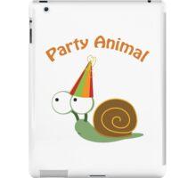 Party Animal - Snail iPad Case/Skin