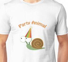 Party Animal - Snail Unisex T-Shirt