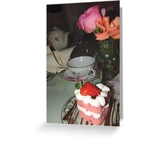 Everything I learned was over a cup of tea! Greeting Card