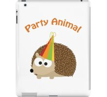 Party Animal - Hedgehog iPad Case/Skin