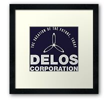 Delos Corporation Framed Print