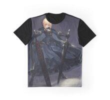 Dual sword saber Graphic T-Shirt