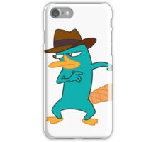 Agent P Perry the Platypus iPhone Case/Skin