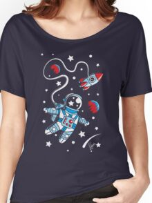 Space Walk Women's Relaxed Fit T-Shirt