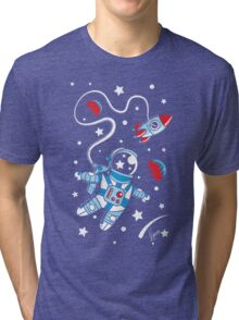 Space Walk Tri-blend T-Shirt