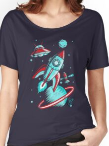 Retro Space Women's Relaxed Fit T-Shirt
