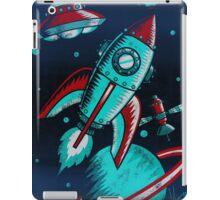 Retro Space iPad Case/Skin