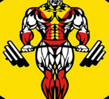 Xavier's Gym Sticker