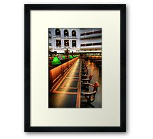 Inside the Reading Room Framed Print