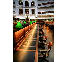 Inside the Reading Room Photographic Print