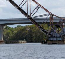 Railway drawbridge over the St. Johns Sticker