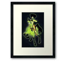 Dark Horse Framed Print