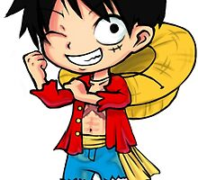 Monkey D Luffy - One Piece by StudioMarimo