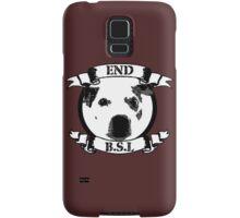 End BSL Dog Logo Samsung Galaxy Case/Skin