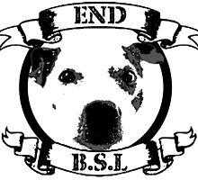 End BSL Dog Logo by scruffyjate